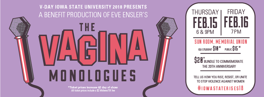 Image of The Vagina Monologues poster